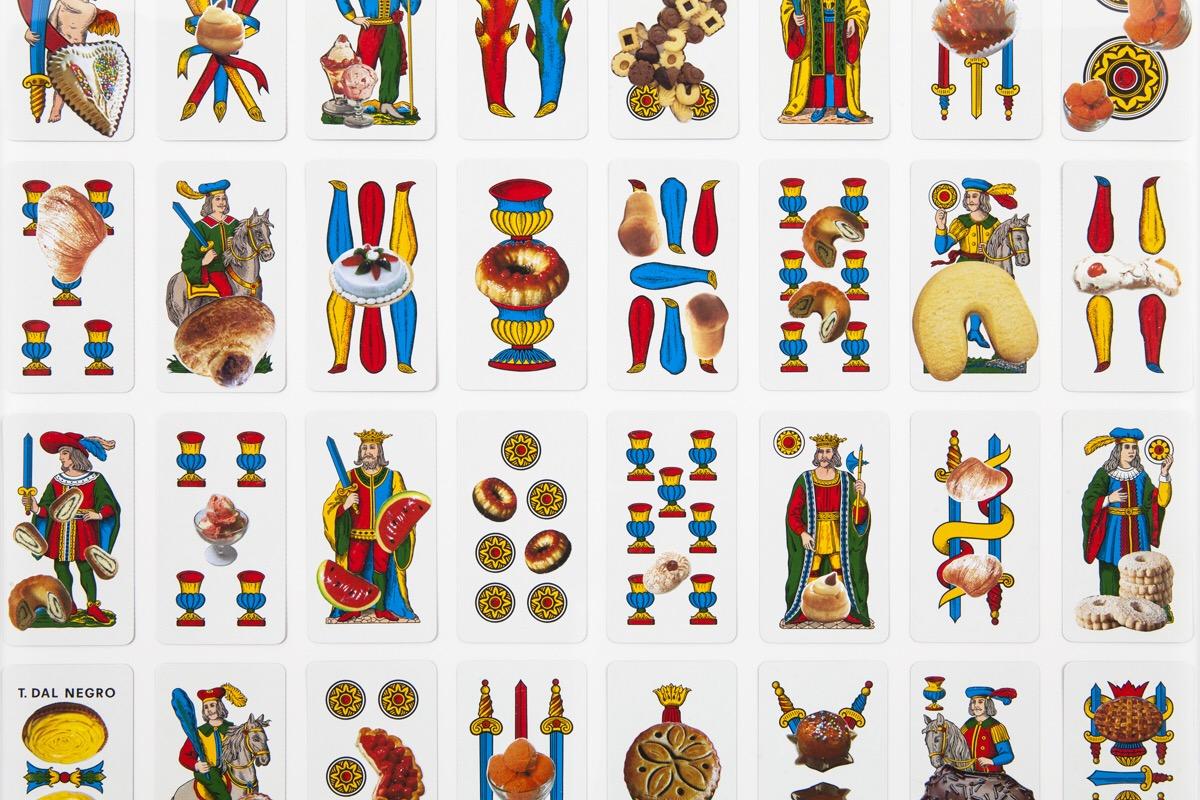 Angelo Formica, Doppio gioco, dettaglio, collage su forex in teca, 2011, Galleria Toselli
